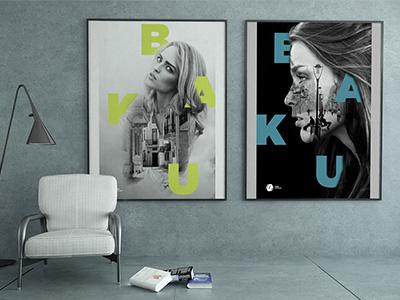 Baku graphic design art direction