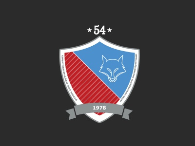 Logo for School N54 named after Abdulla Shai design graphic