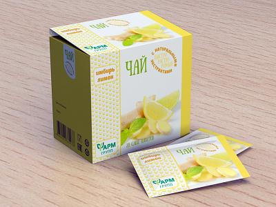 Tea package 3d package tea farmgroup package design