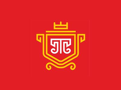 Tula letter t concept mark logo city tula