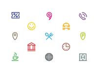 Tula line icons