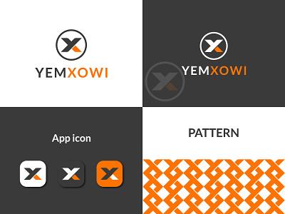 YX Letter Logo Design, Letter Logo. brandidentity