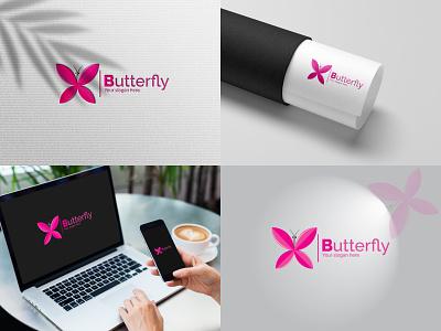 Butterfly Logo Design. logos typography illustration graphic designer logo branding graphic design logotipo brandingdesign modern logo designlogo butterfly logo brandidentity