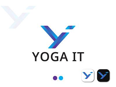 YI Letter Logo. brandidentity