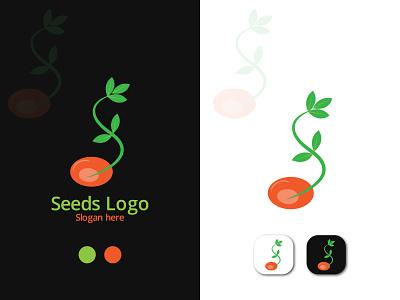 Seed Logo Design. seeds logo