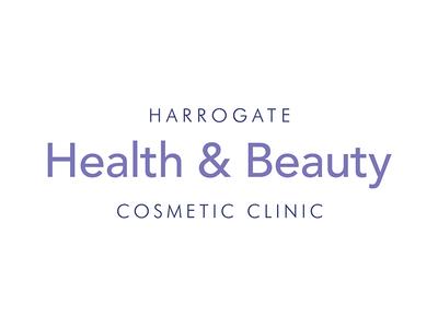 Harrogate Health & Beauty branding