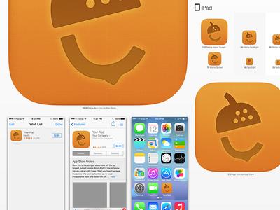 Nutshell iOS 7 design