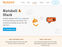 Nutshell web design