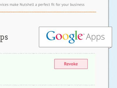 Nutshell UI design