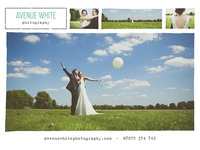 Avenue White Photography print design