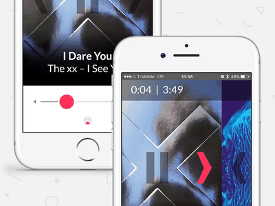 Apple iOS Music App Redesign apple redesign wip music app mobile ios