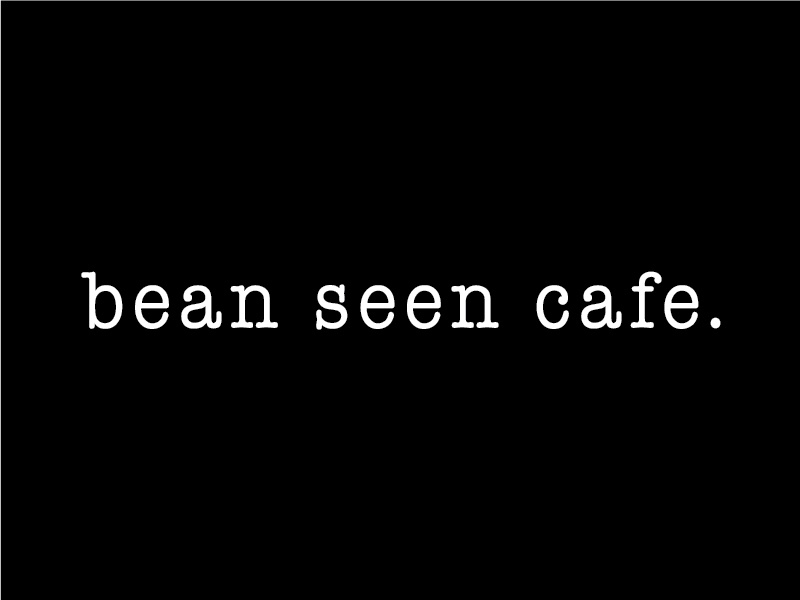 Bean Seen Cafe new visual cafe branding logo