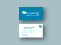 Living health group biz cards mock up