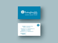 Business Cards Design for Living Health Group
