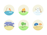 Outdoorsy Icons