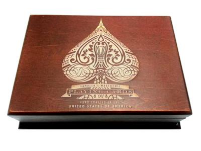 Laser Engraved Card Box
