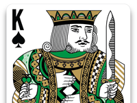 Regal King of Spades