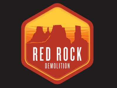Red Rock Demolition logo