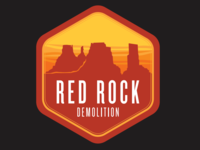 Red Rock Demolition logo