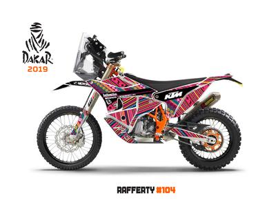 Dakar Rally / Rafferty Moto Graphics