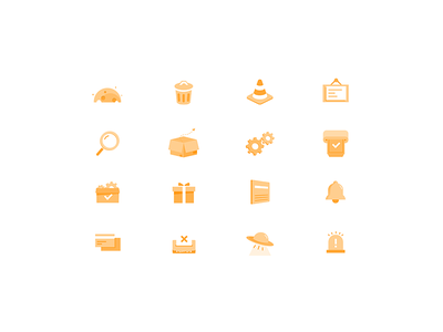 Default page icons office line illustration icon funny emotion default page blank 404