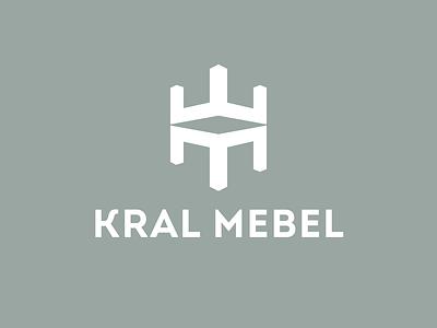 Kral Mebel / King Furniture logo concept logotypes king logo furniture logo furniture king furniture branding logotype design logo