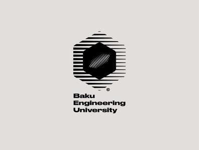 Logo concept for Baku Engineering University graphic design graphicdesign typeface font vector ui branding logotype design logo