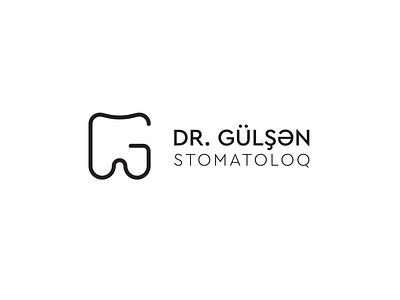 Logo for Dr. Gulshan. dentist logo dentist drgulshan dental logo dental logo branding illustration design