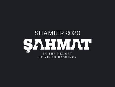 Chess logotype concept for Shamkir 2020