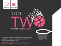 Invitation for players
