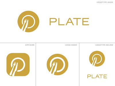 Plate Logo V2 culinary plate index hospitality systems logo