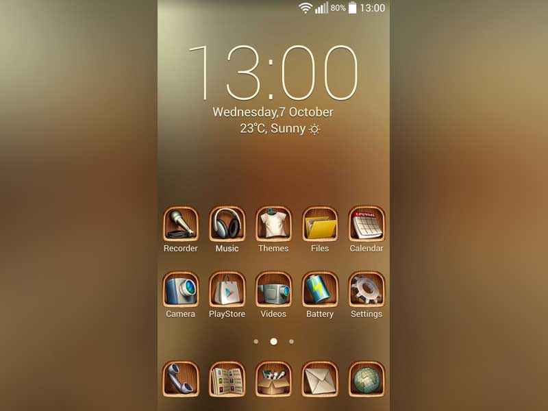 Sweet Comfort Theme photoshop design launcher concept android theme comfort sweet