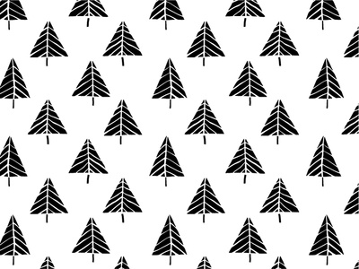 Christmas Trees: Objects And Patterns