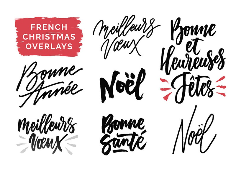 overlays typeandgraphicslab preview 4 - Christmas Overlays