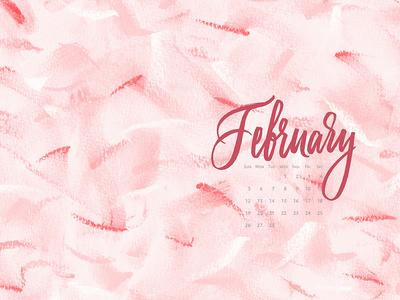 Desktop Calendar February 2017