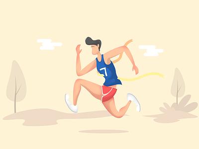 Stay Active!! vector vectorgraphics minimalart illustration flat digitalart creative art art