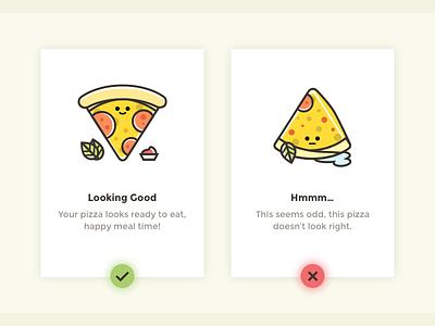 Flash Message funny food error success flash icon flash message cake pizza