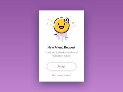 Friend Request Popup