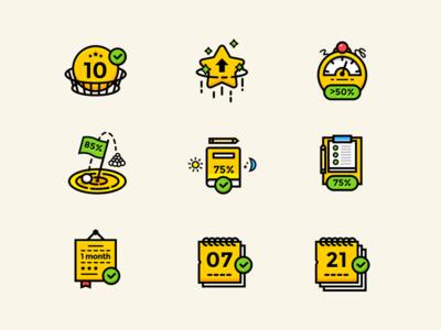 Gamification Icon Set