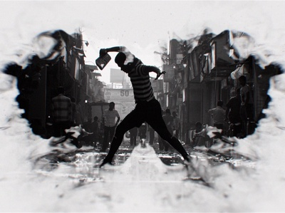 Black & White Ink Trailer After Effects Template