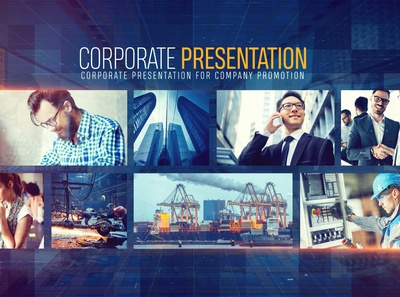 Corporate Presentation for Company Promotion After Effects Proje
