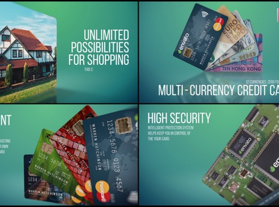 Multi Currency Credit Card Promo project