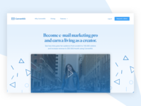 Landing page redesign - Daily UI #003