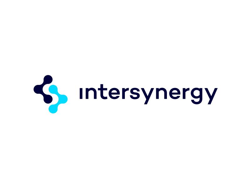 InterSynergy - Logo brochure tech startup software logo developers code