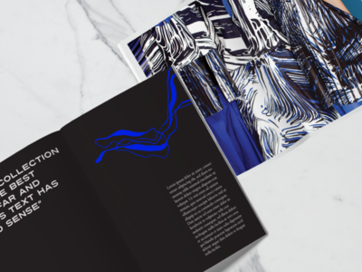 Lookbook concept for polish fashion designer