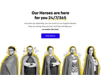 LiveChat Heroes