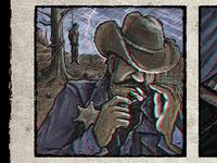 'Lynch n' Light' - Texan Gothic poster detail
