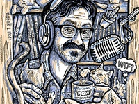 Marc Maron Standup WTF Podcast Gig Poster