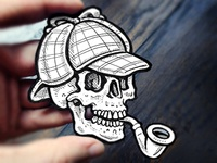 Sherlock Bones, Cutout Illustrations