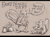 Protect Yer Nuts! Happy Father's Day!